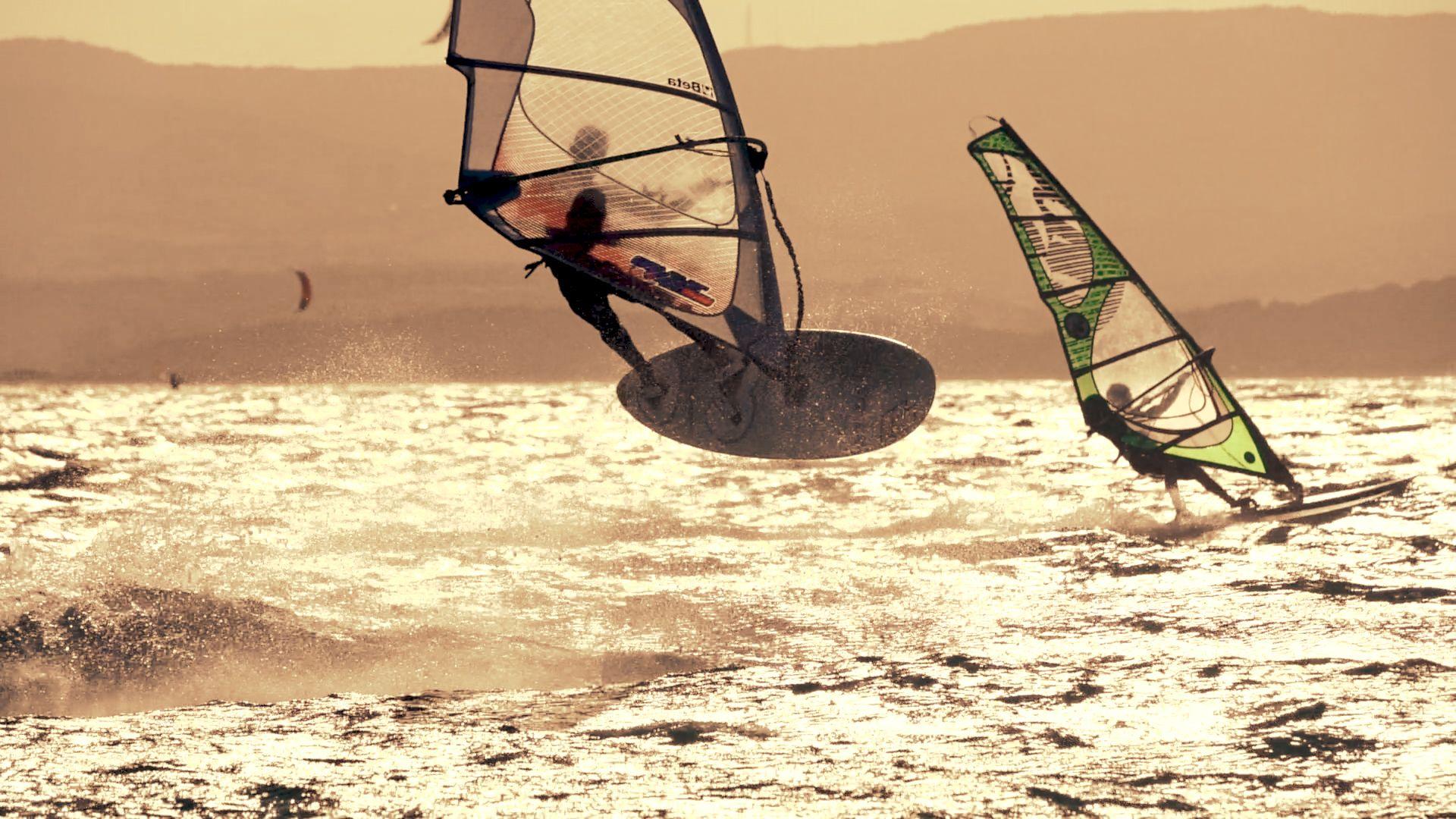 Windsurfing paradise